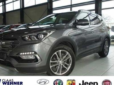 used Hyundai Santa Fe blue 2.2 CRDI 4WD Automatik Premium *Around-View,
