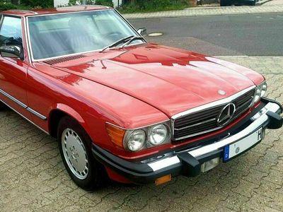 gebraucht Mercedes 560 Mercedes- 1989 - rot - top - wenig ...