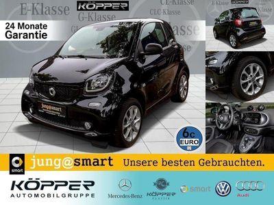 gebraucht Smart ForTwo Coupé 66 kW Automatik Pano.-Dach Sitzhzg. Klima