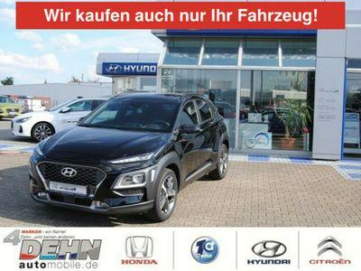 gebraucht Hyundai Kona 1.6 T-GDi DCT 4WD Style LED-Licht-/Navi