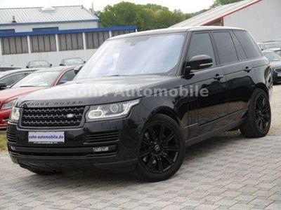 gebraucht Land Rover Range Rover Vogue SDV8 Black-Pack/Stdhzg/HUD/ACC als SUV/Geländewagen/Pickup in Rauenberg (Gewerbegebiet)