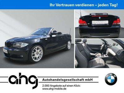 gebraucht BMW 125 Cabriolet i M Sportpaket Navi Business Klimaaut.