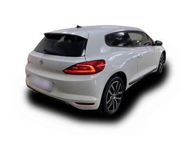 gebraucht VW Scirocco ''Allstar'' 1.4 TSI Bi-Xenon Navi Pure White LM 17'' PDC vo/hi