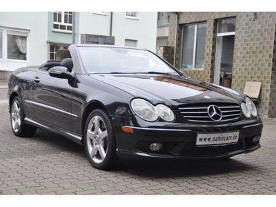 gebraucht Mercedes CLK500 CLK 500 CLK CabrioAMG-OPTIC/LEDER/HARMAN-KARDON