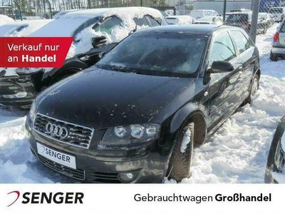 gebraucht Audi A3 1.6 Ambition Komfortsitze FIS Nebel Alu Fahrzeuge kaufen und verkaufen