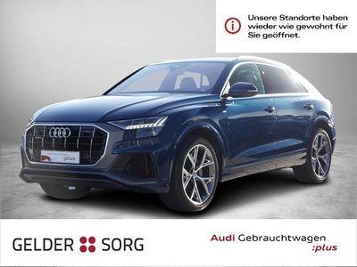 gebraucht Audi Q8 50 TDI qu. S line *HuD*HD-Matrix*S-Sitze*AHK* Navi Panorama Leder Standheiz GRA