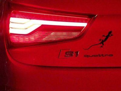 gebraucht Audi S1 quattro rot-schwarz Xenon Klima Na...