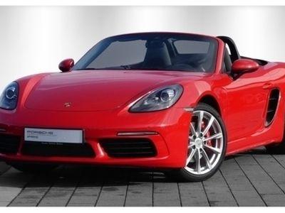 gebraucht Porsche 718 BoxsterS, 19'',Sportabgas,Tempolimitanzeige