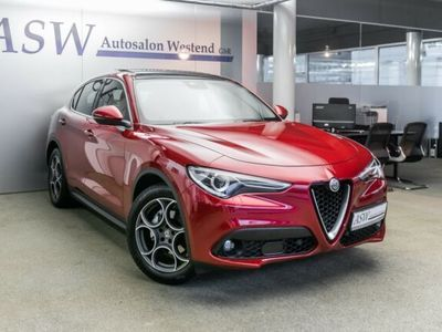 gebraucht Alfa Romeo Stelvio SUPER 2,2 DIESEL LUSSO ACC TOTWINKEL