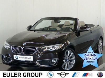 gebraucht BMW 225 d Cabrio Leder Navi Prof Tempo e-Sitze 18'' als Cabrio/Roadster in Hainburg