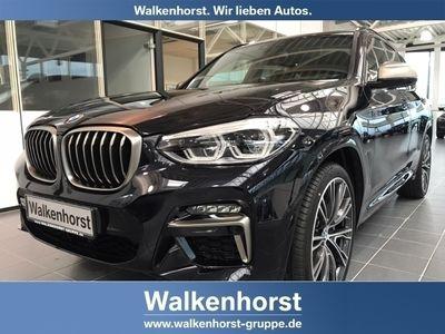 gebraucht BMW X3 M40 i EU6d-T Leder LED Navi Keyless Kurvenlicht e-Sitze HUD Parklenkass. Allrad Panorama