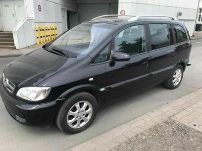 gebraucht Opel Zafira 1.6 Benziner Klima 7Sitzer Unf...