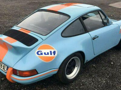 gebraucht Porsche 911 2.4 E Coupe - Gulf Racing Optik als Sportwagen/Coupé in Oberhonnefeld