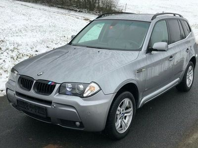 gebraucht BMW 218 X3 3.0 DieselPS M Paket Paket E83 Xenon Navigation Leder