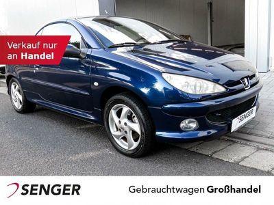 gebraucht Peugeot 206 CC Cabrio Sport Sicht-Paket Klima Leder Fahrzeuge kaufen und verkaufen