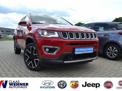 gebraucht Jeep Compass 2.0 MultiJet Limited *Sitzh.,Tempom.,Klimaauto.