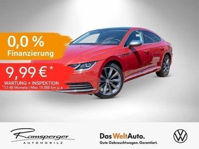 gebraucht VW Arteon 2.0 TSI DSG Elegance LED Pano Standheizung