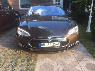 gebraucht Tesla Model S P85, Doppell., Luftfederung, Tech-Paket, Supercha.