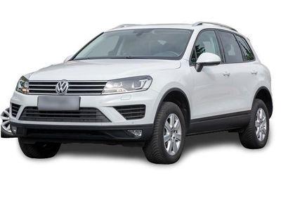 gebraucht VW Touareg V6 TDI Leder Luft Navi DAB
