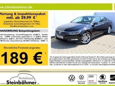 gebraucht VW Passat Comfortline 2.0TDI DSG Navi Leder LED ACC