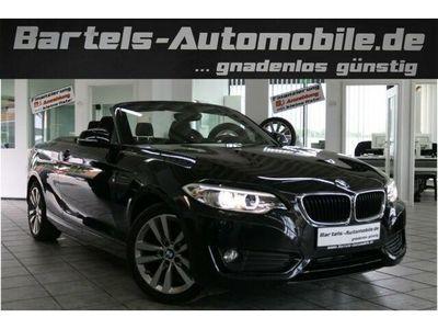 gebraucht BMW 218 dA Cabrio Advantage, Navi, Start/Stop