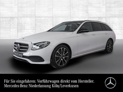 gebraucht Mercedes E300 T Avantgarde Pano Burmester LED Night PTS