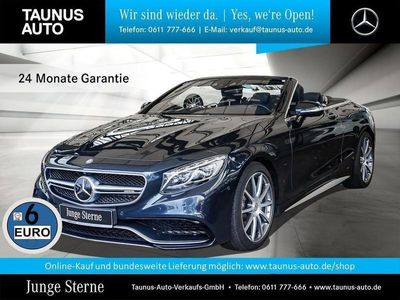 gebraucht Mercedes S63 AMG AMG 4M CABRIO DESIGNO HUD UPE:212.800,-
