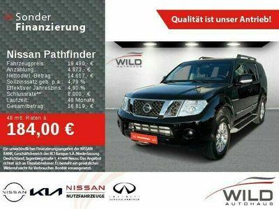gebraucht Nissan Pathfinder 3.0 dCi V6 Navi Klimaautomatik AHK Rückfahrkamera