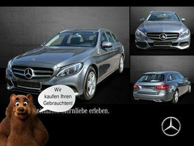 gebraucht Mercedes C200 d T-Modell Navi/Easy-Pack/Klimaaut. LED/BC