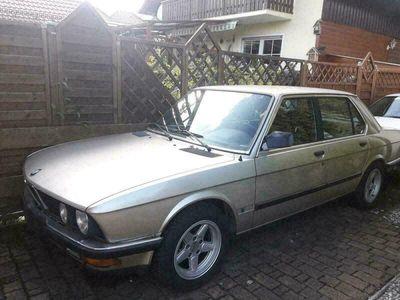 gebraucht BMW 524 e28 td EZ. 03/1985
