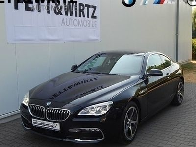 gebraucht BMW 640 d Coupe GSD LED Navi PDC Sitzhzg. Klima Leder