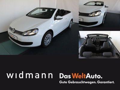 gebraucht VW Golf Cabriolet 1.6 TDI Xenon Sportsitze Windscho