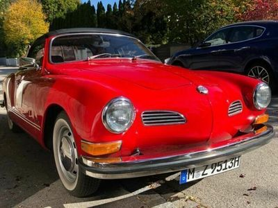 gebraucht VW Karmann Ghia Cabrio !! TOP!! Deutsches Auto