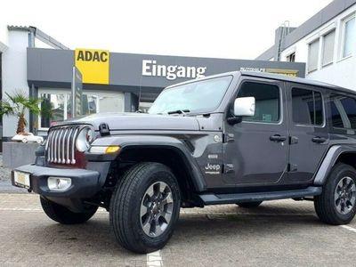 gebraucht Jeep Wrangler Unlimited Sahara JL 2.0 T-GDI 4x4 als SUV/Geländewagen/Pickup in Trier