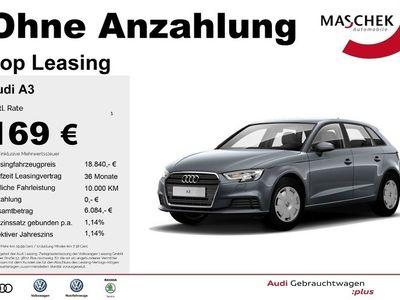 gebraucht Audi A3 Sportback 1.6 TDI PDCplus Sitzh. Naviplus MFL M