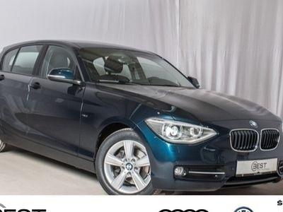 gebraucht BMW 116 i Sport Line Navi, Xenon, PDC, Shz, GRA, LM, Klima
