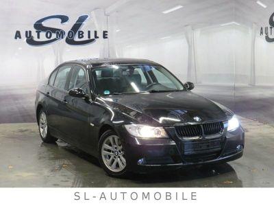 gebraucht BMW 318 d Lim. BI Xenon Leder, Schiebedach GjR PDC