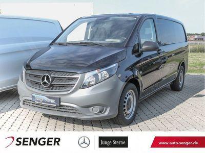 gebraucht Mercedes Vito 119 CDI Mixto 6-Sitze Klima 7G-Aut. Metalli