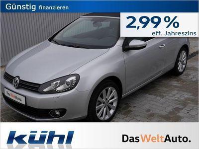 gebraucht VW Golf Cabriolet VI 1.6 TDI BMT Exclusive (Navi)
