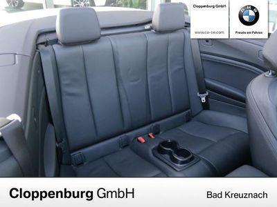 gebraucht BMW 218 d Cabrio Sport NAVI XENON LEDER E-SITZE TEMPOMAT P