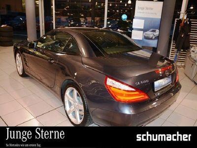 gebraucht Mercedes SL500 Distronic ABC-Fahrw./COMAND/Soundsy./Voll Navi