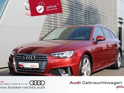 gebraucht Audi A4 Avant 40 TDI quattro S tronic S line Navi LED K