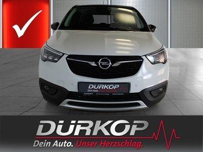 gebraucht Opel Crossland X 120 Jahre 1.2 Turbo EU6d-T LED Navi Keyless HUD Rückfahrkam.