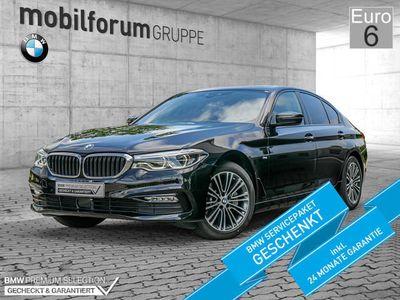 gebraucht BMW 530 d xDrive Sport Line HUD NAVI LED ACC EU6