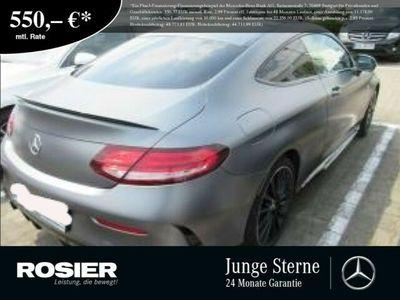 gebraucht Mercedes C43 AMG AMG 4M Coupe Night Soundsystem DAB Distr Pa