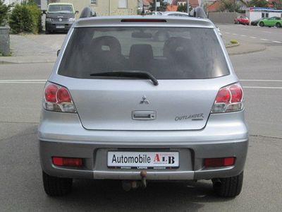 gebraucht Mitsubishi Outlander 2.4 Sport *ALLRADANTRIEB*KLIMA*ALU*