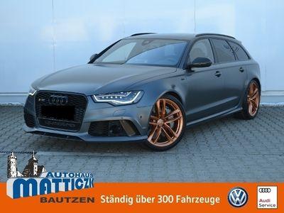 gebraucht Audi RS6 Avant 4.0 TFSI quat. VOLL/NP: 161.605 €/MATT-LACK/KERAMIK/DYNAMIK-PLUS/PANORAMA/LED/NAVI+BOSE