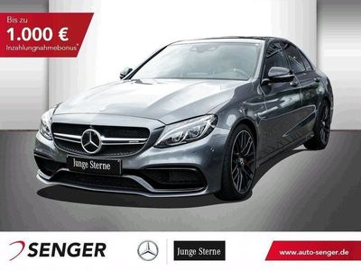 gebraucht Mercedes C63S AMG AMG DRIVERS PACKAGE+BURMESTER+PANO+360°