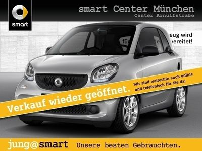 gebraucht Smart ForTwo Coupé 66kW passion DCT cool&Audio SHZ