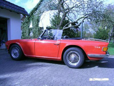 gebraucht Triumph TR6 mit H Zulassung RESTAURIERT Einspritzer als Cabrio/Roadster in Minden